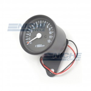 Mini Tachometer Gauge 12k RPM - 1:4 Ratio 58-43693B