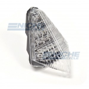 Yamaha YZF-R1 Clear LED Taillight Brake Light w/Integrated Turn Signals 62-39361LT