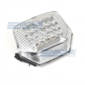 Honda CBR1300 LED Clear Taill Light Brake E-MARK 62-84712L