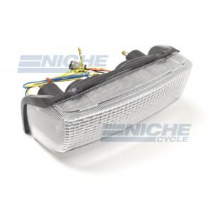 Honda CBR600F LED Clear Taillight Brake Light w/Integrated Turn Signals 62-84720LT