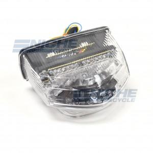 Honda CBR600RR LED Clear Taillight Brake Light w/Integrated Turn Signals 62-84723LT