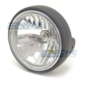 "7"" Headlight Assembly - Matte Black 66-64199B"