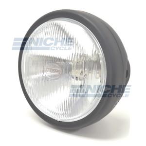 "6.25"" Headlight Assembly - Matte Black 66-64313M"
