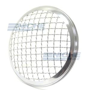 "Headlight Grill Cover 5.75"" Chrome HG5C"