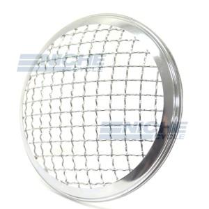 "Headlight Grill Cover 6.5"" Chrome HG6C"