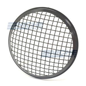 "Headlight Grill Cover 6.5"" Gloss Black HG6G"