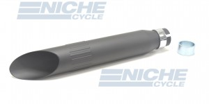 "Muffler- Slash Cut 16"" 80-45710B"