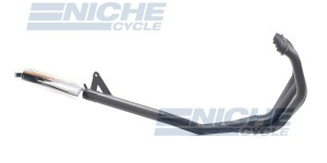 Suzuki GSXR750 1988 Race 4-Into-1 Black/Chrome Canister Exhaust System AC3-1101