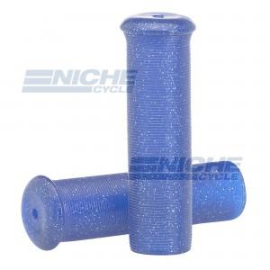 "Grip Set - Metal Flake 7/8""x120mm -  Blue 42-21123"