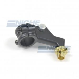 Honda Type Clutch Lever 2 Piece Perch - Black 34-37202