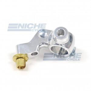 Honda Type One Piece Brake Lever Bracket - Silver 34-30101