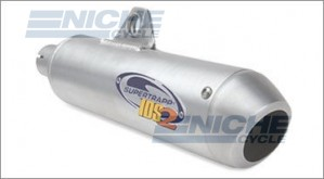 "Supertrapp 3"" Racing Series Core Muffler for Suzuki DR250 DR350 613-5350"