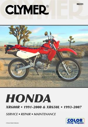 Honda XR600R 91-00 XR650L 93-07 M221