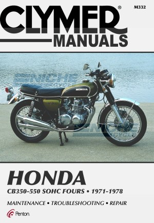 Honda 350-550cc Fours 72-78 Tota M332