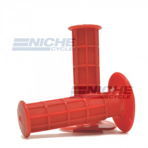 "Grip Set - Honda CR Style 7/8"" - Red 42-24614"
