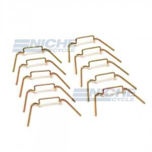 Headlamp Rim Retaining Wire Clips 504665