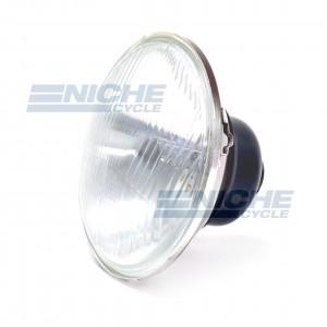 """Light Unit 5-3/4"""" w/H4 - Convex Lens 66-84133"""