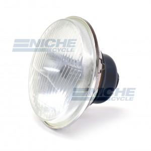"Light Unit 5-3/4"" w/H4 - Flat Lens 66-84131"