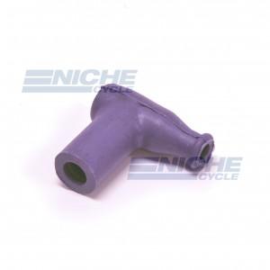 Silicon 90 Degree Spark Plug Cap - Purple 28-47841