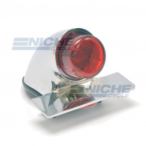 Sparto Classic Projected Taillight - Chrome 62-30390