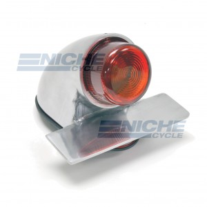 Sparto Classic Projected Taillight - Polished 62-30391