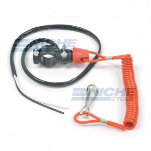 Handlebar Tether Line Kill Switch - N/O 46-50412
