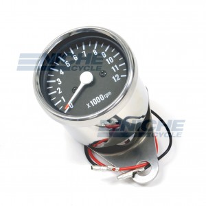 Mini Tachometer Gauge 12k RPM - 1:4 Ratio 58-43693