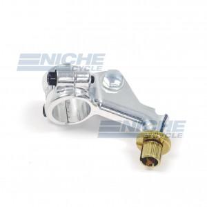 Honda Left Side Perch - Alloy Single bra 34-37222