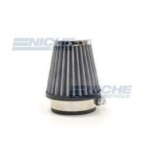Round Tapered Air Filter - 50mm RC-106