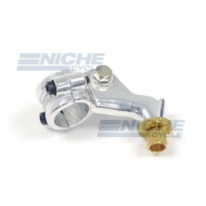 Honda Left Side Perch - Alloy Double bra 34-37242