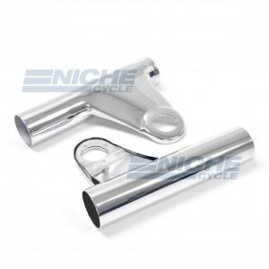 Kawasaki Z1 LH/RH Headlight Brackets 66-35860