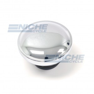Harley Non Vented Screw In Style Gas Cap 07-73484