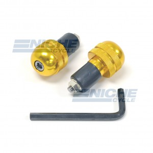 Bar Ends Alum -  Knurled Gold 23-96465