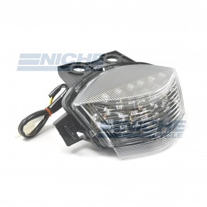 Kawasaki EX650R Clear LED Taillight Assembly 62-84754L