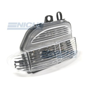 Honda CBR900RR Clear LED Taillight Assembly 62-84710L