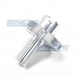 GSXR Clutch Cable Adjuster - Silver 34-67072