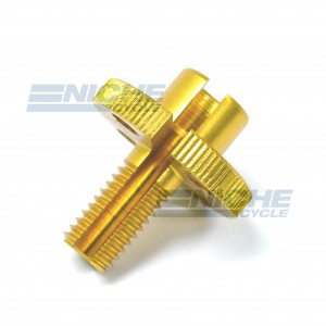 GSXR Clutch Cable Adjuster - Gold 34-67075