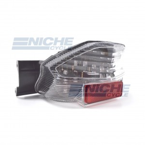 Suzuki GSX-1400 Clear Lens Taillight Assembly LED 62-84769L