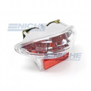 Taillight Suzuki Clear w/Red 62-84761