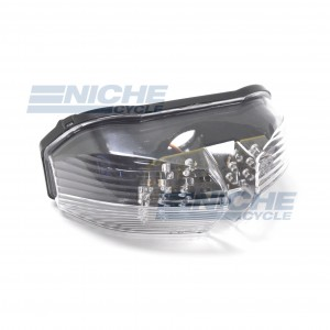 Yamaha FZ1 FZ6 Clear LED Taillight Assembly 62-84779L