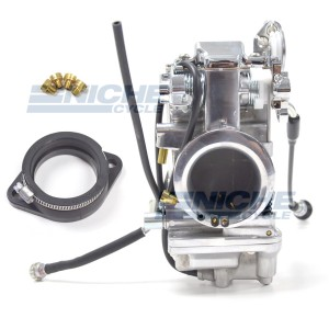 Mikuni 48mm Race Kit - Polished HSR48-2P