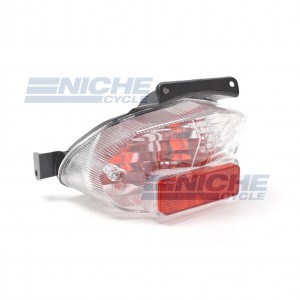 Suzuki GSXR 600/750/1000 Clear Lens Taillight Assembly 62-84760