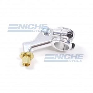 Honda Type Brake Lever 2 Piece Perch - Polished 34-37203