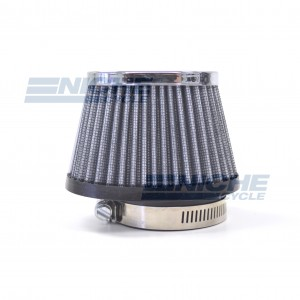 Oblong Tapered Offset Air Filter - 55mm RC-98
