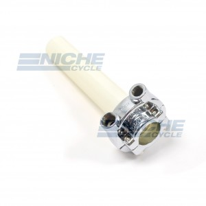 Honda Style Push/Pull Throttle Assembly - Chrome 44-97772