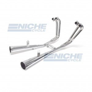 Yamaha Radian YX600 4-Into-2 Chrome Megaphone Exhaust System 004-2109