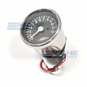Mini Tachometer Gauge 12k RPM - 1:7 Ratio 58-43692