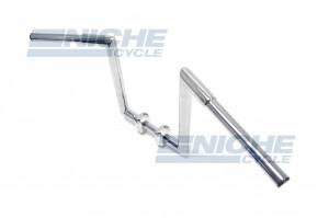 """Handlebar - Fat Z Bars 12"""" Rise Chrome 07-93436"""
