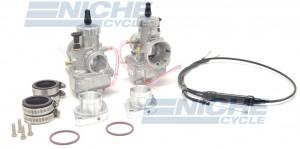 Yamaha Virago 750/920 Mikuni VM34 34mm Carburetor Conversion Kit NCS920