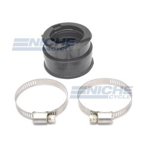 Carburetor Holder, Straight Rubber Manifold Adapter 40/44mm RY08-023